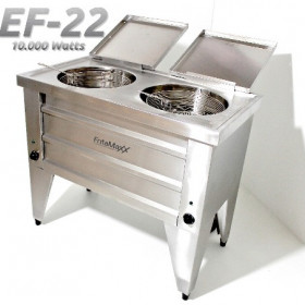 Fritadeira Dupla  - EF22 10.000 Watts - Reativada - Água e Óleo