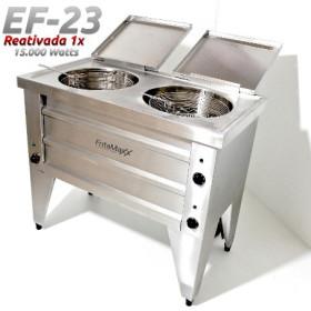 Fritadeira Dupla  - EF23 15.000 Watts - Reativada - Água e Óleo